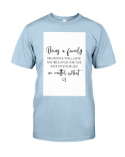Family Decor  Classic T-Shirt front