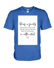 Family Decor  V-Neck T-Shirt thumbnail