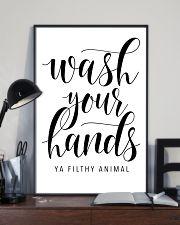 bathroom decor 10 11x17 Poster lifestyle-poster-2