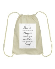 Family Quote Drawstring Bag tile