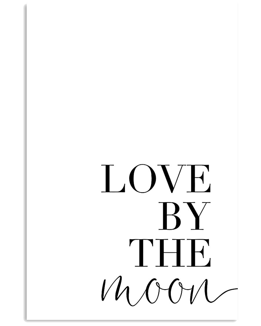 Love by the moon 11x17 Poster