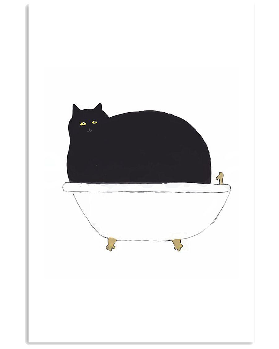 Cat Bath Time 11x17 Poster