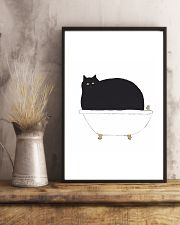 Cat Bath Time 11x17 Poster lifestyle-poster-3