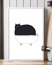 Cat Bath Time 11x17 Poster lifestyle-poster-4