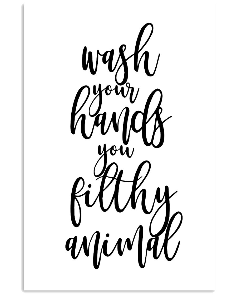 Wash your hands 11x17 Poster