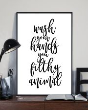 Wash your hands 11x17 Poster lifestyle-poster-2