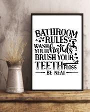 bathroom decor 8 11x17 Poster lifestyle-poster-3