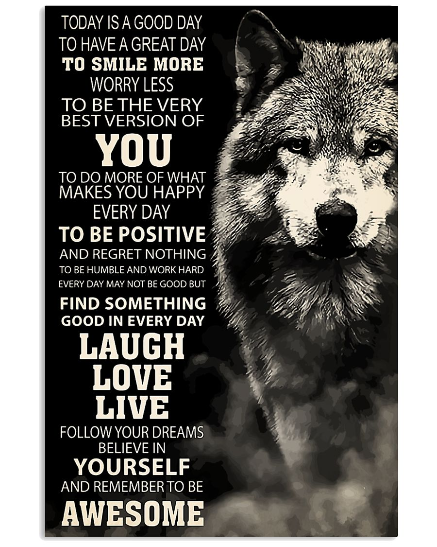 Woft Today is a goodday 11x17 Poster