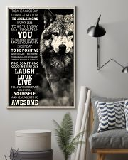 Woft Today is a goodday 11x17 Poster lifestyle-poster-1