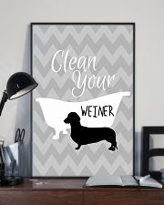 Clean your winer 11x17 Poster lifestyle-poster-2