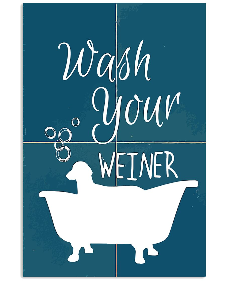 Wash your 11x17 Poster