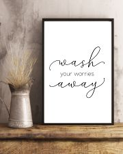 wash you worries away 11x17 Poster lifestyle-poster-3