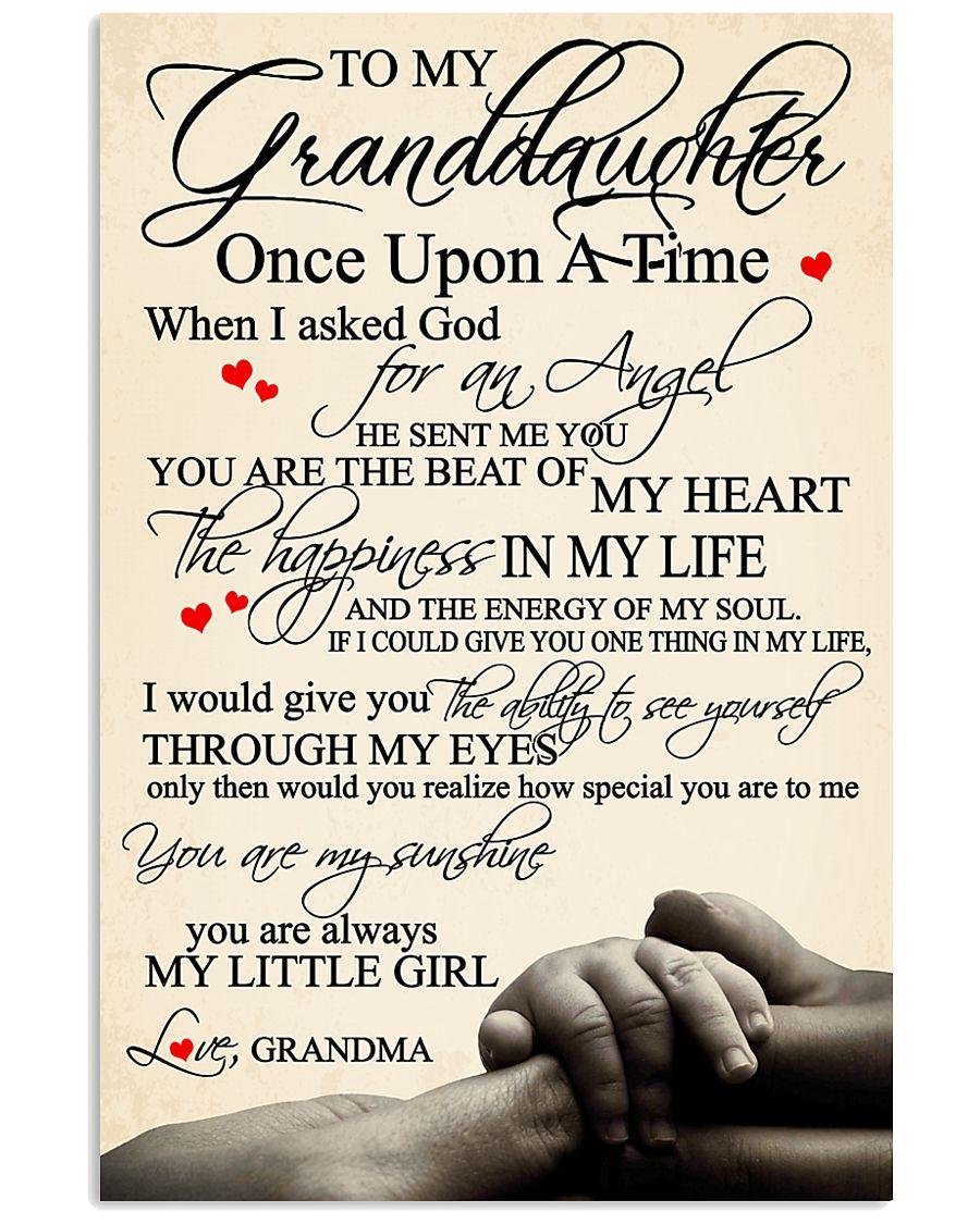 Grandma Granddaughter 3 11x17 Poster