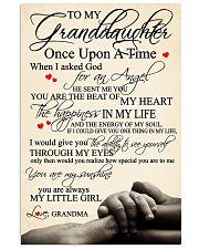 Grandma Granddaughter 3 11x17 Poster front