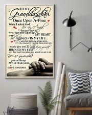 Grandma Granddaughter 3 11x17 Poster lifestyle-poster-1