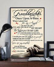 Grandma Granddaughter 3 11x17 Poster lifestyle-poster-2