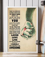 Dumbo Today is a goodday 11x17 Poster lifestyle-poster-4