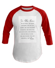 Family Quote Baseball Tee tile