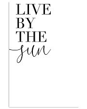 Live by the fun 11x17 Poster front