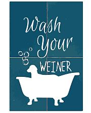 Wash your 11x17 Poster front