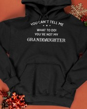 You Can't Tell Me What To Do You're Not My Grandda Hooded Sweatshirt apparel-hooded-sweatshirt-lifestyle-front-65