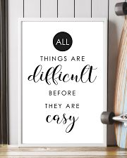 Difficult 11x17 Poster lifestyle-poster-4