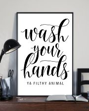 bathroom decor 10 11x17 Poster lifestyle-poster-2