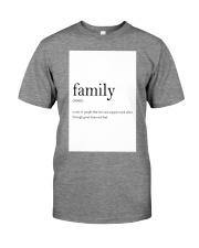 Family Quote Premium Fit Mens Tee thumbnail