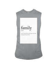 Family Quote Sleeveless Tee thumbnail