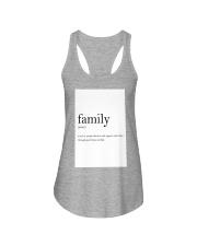 Family Quote Ladies Flowy Tank thumbnail