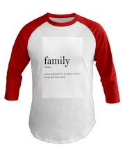 Family Quote Baseball Tee thumbnail