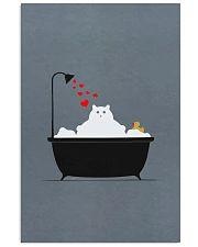 Cat-in-bathroom 11x17 Poster front