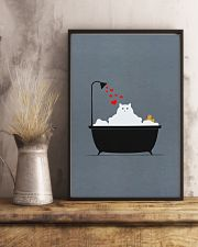 Cat-in-bathroom 11x17 Poster lifestyle-poster-3