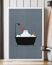Cat-in-bathroom 11x17 Poster lifestyle-poster-4
