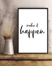 Make it happen 11x17 Poster lifestyle-poster-3