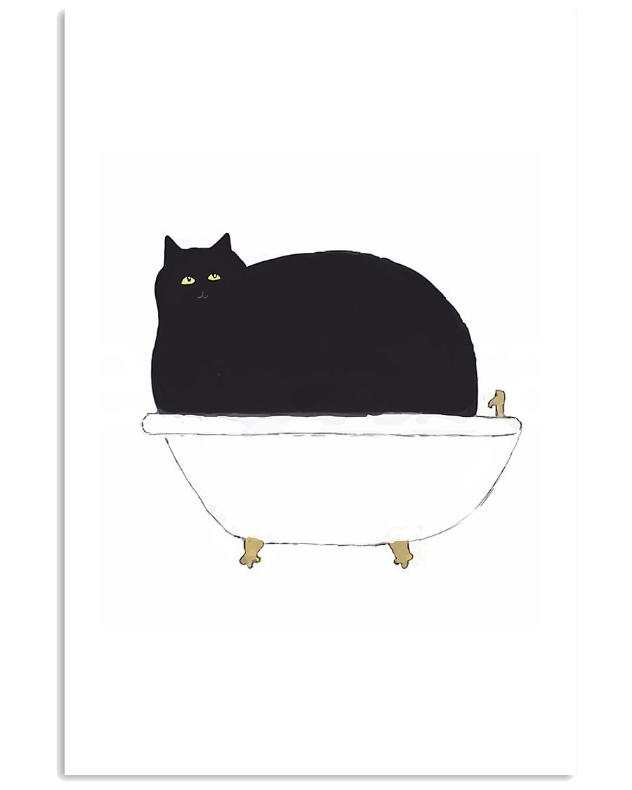 Cat Bath Time 11x17 Poster