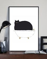 Cat Bath Time 11x17 Poster lifestyle-poster-2
