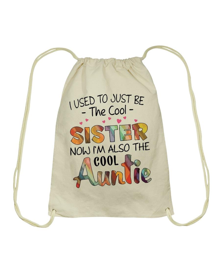 Cool Auntie Drawstring Bag