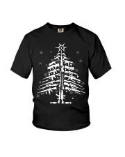 AR15 AR 15 M4 M16 Christmas Tree Assault Rifle Gun Youth T-Shirt thumbnail