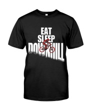 Eat Sleep Ride Downhill Enduro Mountain Bike MTB Classic T-Shirt front