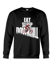 Eat Sleep Ride Downhill Enduro Mountain Bike MTB Crewneck Sweatshirt thumbnail