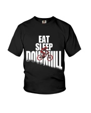 Eat Sleep Ride Downhill Enduro Mountain Bike MTB Youth T-Shirt thumbnail