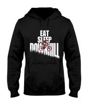 Eat Sleep Ride Downhill Enduro Mountain Bike MTB Hooded Sweatshirt thumbnail