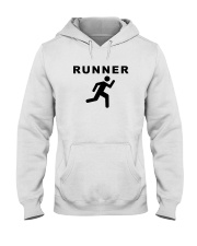 Runner Hooded Sweatshirt front