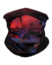 Skull in Red and in Blue Neck Gaiter thumbnail