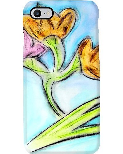 Japanese Iris Flower - Floral art