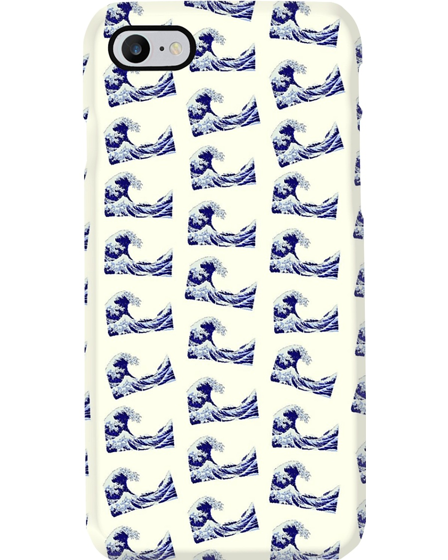 Japanese Wave Pattern - For Japan Lovers Phone Case