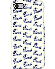 Japanese Wave Pattern - For Japan Lovers Phone Case i-phone-7-case