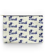 Japanese Wave Pattern - For Japan Lovers Accessory Pouch - Large thumbnail