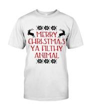 Merry Christmas ya filthy Animal Premium Fit Mens Tee thumbnail